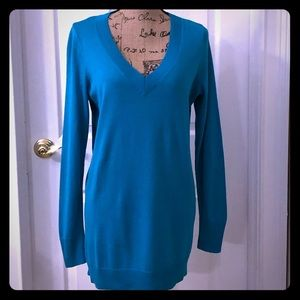 NWT Apt 9 v neck tunic sweater